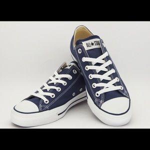 Dark navy blue Converse